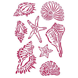 Stamperia sapluuna Romantic Sea Dream Shells, A4