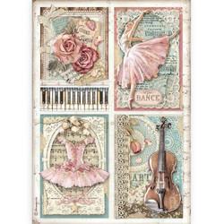 Stamperia riisipaperi Passion, Cards