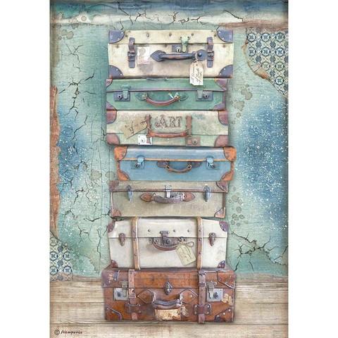 Stamperia riisipaperi Atelier, Luggage