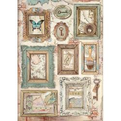Stamperia riisipaperi Atelier, Frames