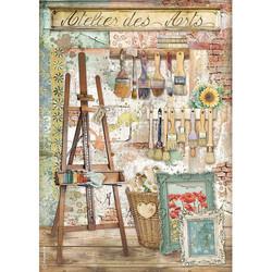 Stamperia riisipaperi Atelier, Des Arts Easel