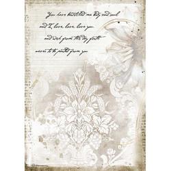 Stamperia riisipaperi Romantic Journal, Manuscripts