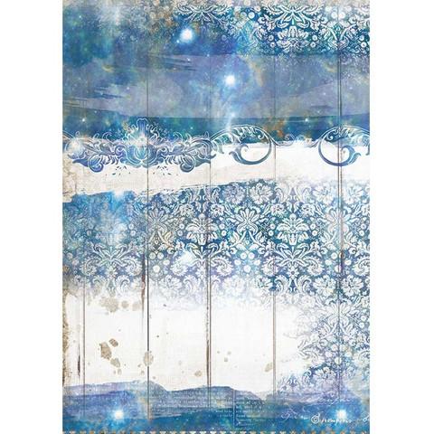 Stamperia riisipaperi Romantic Sea, Texture