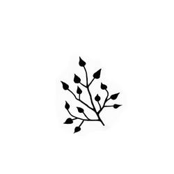 Lavinia Stamps leimasin Mini Leaf 2