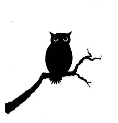 Lavinia Stamps leimasin Owl
