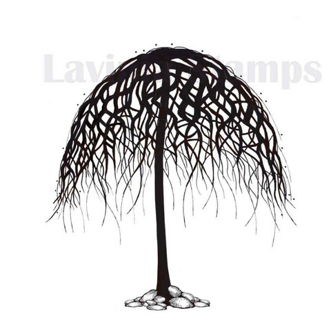 Lavinia Stamps leimasin Wishing tree