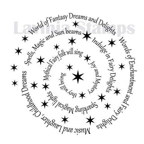 Lavinia Stamps leimasin Spiral of spells