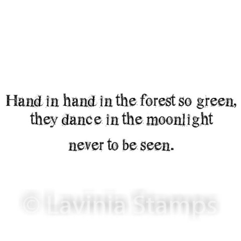 Lavinia Stamps leimasin Forest So Green