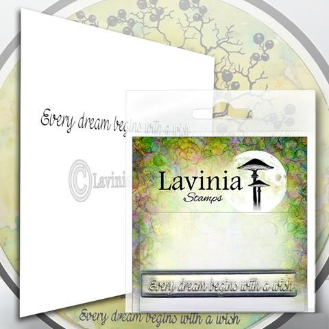 Lavinia Stamps leimasin Every Dream
