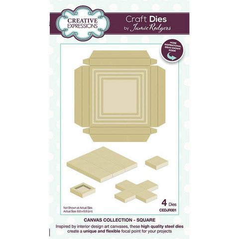 Creative Expressions stanssi Canvas Collection Square