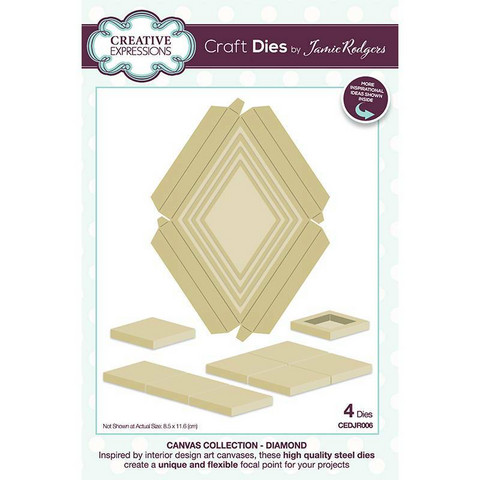 Creative Expressions stanssi Canvas Collection Diamond