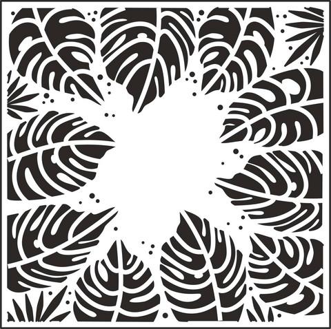 Creative Expressions sapluuna Tropical Leaves, 7