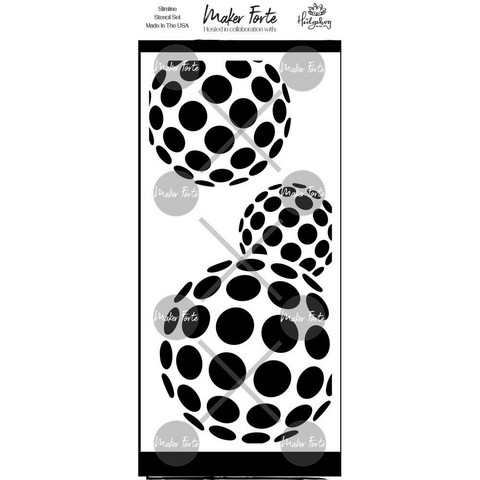 Maker Forte sapluuna Bouncing Ball Slimline