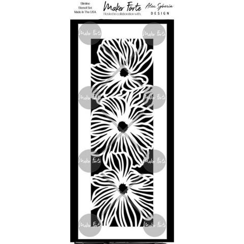Maker Forte sapluuna Flower Trio Slimline
