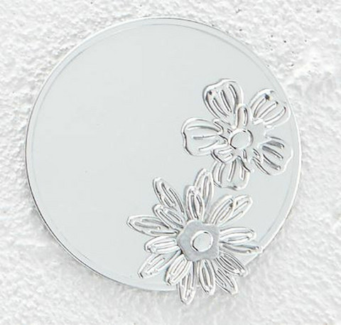 Spellbinders Mirror Silver Cardstock -peilikartonki