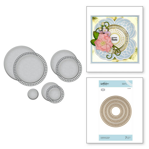 Spellbinders stanssisetti Candlewick Circles