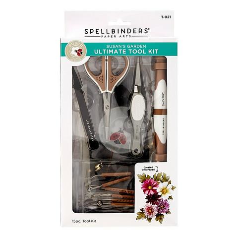 Spellbinders Susan's Garden Ultimate Tool Kit -setti