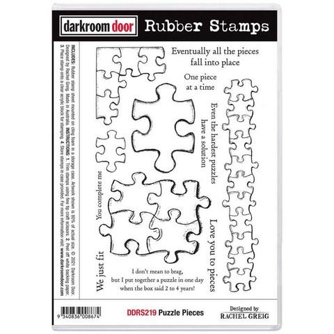 Darkroom Door leimasin Puzzle Pieces