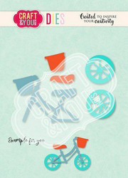 Craft & You stanssisetti Baby Bicycle