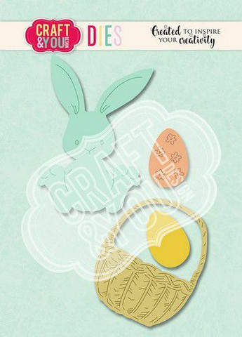 Craft & You stanssi Easter Bunny