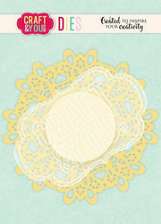 Craft & You stanssi Doily 5