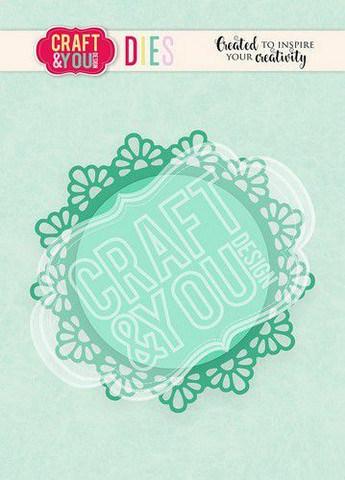 Craft & You stanssi Doily 1