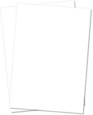 Creative Expressions Foundation Card -kartonki, sävy Coconut White