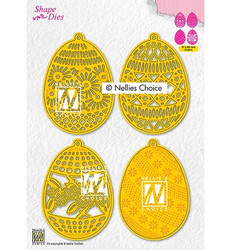 Nellie's Choice stanssisetti 4 Easter Eggs