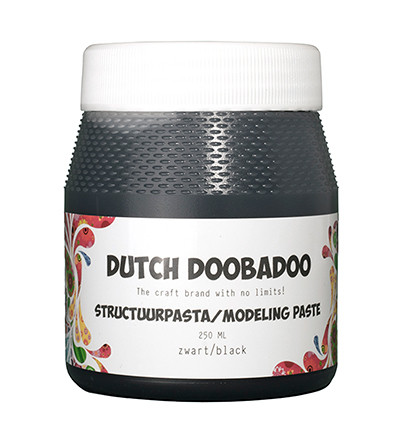 Dutch Doobadoo Muotoilupasta, musta, 250 ml