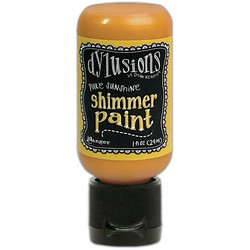 Dylusions Shimmer Paint -akryylimaali, sävy Pure Sunshine