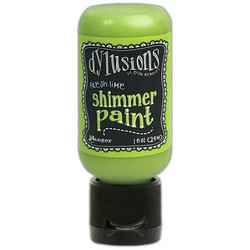 Dylusions Shimmer Paint -akryylimaali, sävy Fresh Lime