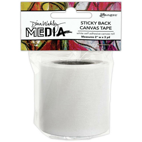 Dina Wakley Media Stickyback Canvas Tape -teippi, 2