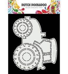 Dutch Doobadoo Cart Art Tractor -sapluuna