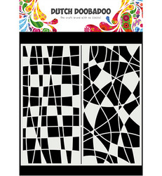 Dutch Doobadoo Slimline Mosiaic Line -sapluuna