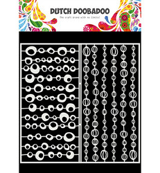Dutch Doobadoo Slimline Groovy Circles -sapluuna