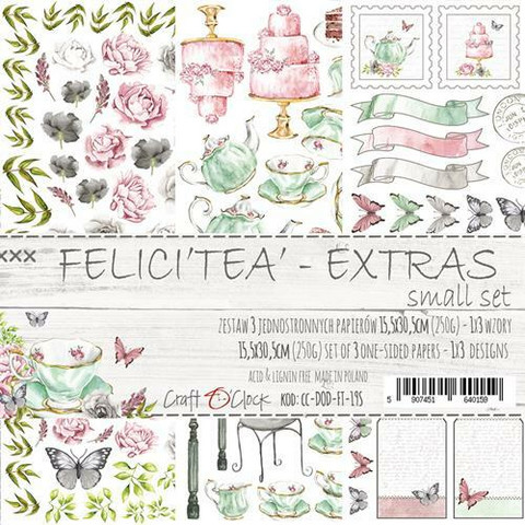 Craft O'clock paperipakkaus Felicitea, Extras To Cut