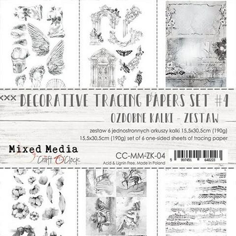 Craft O'clock Mixed Media 4 -kuultopaperit