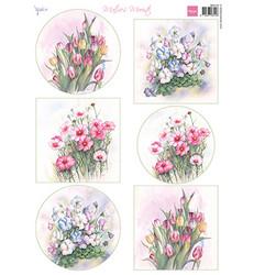 Marianne Design korttikuvat Floral Spring