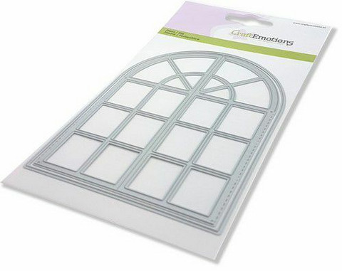 CraftEmotions Arched Window -stanssi
