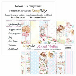 ScrapBoys paperikko Sweet Ballet