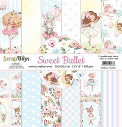 ScrapBoys paperipakkaus Sweet Ballet,12