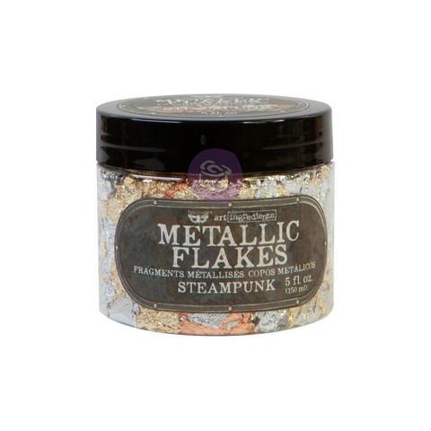 Finnabair Art Ingredients Metal Flakes, foliohiutaleet, sävy Steampunk