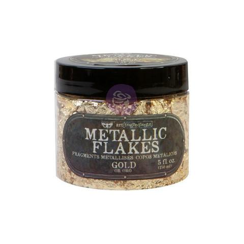 Finnabair Art Ingredients Metal Flakes, foliohiutaleet, sävy Gold
