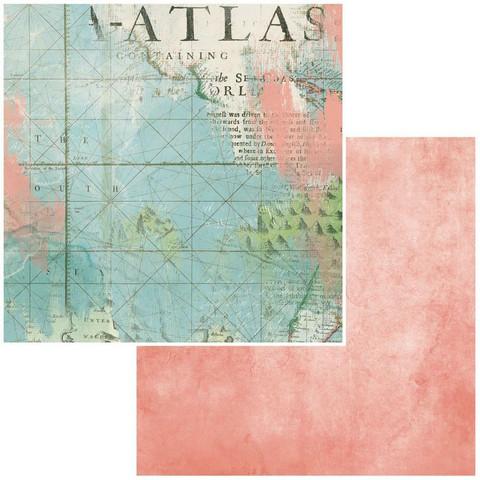 49 and Market Vintage Artistry Anywhere skräppipaperi Atlas