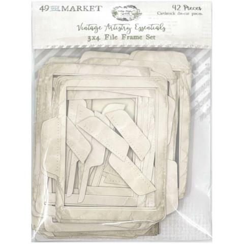 49 and Market leikekuvat Vintage Artistry Essentials File Frame, 3
