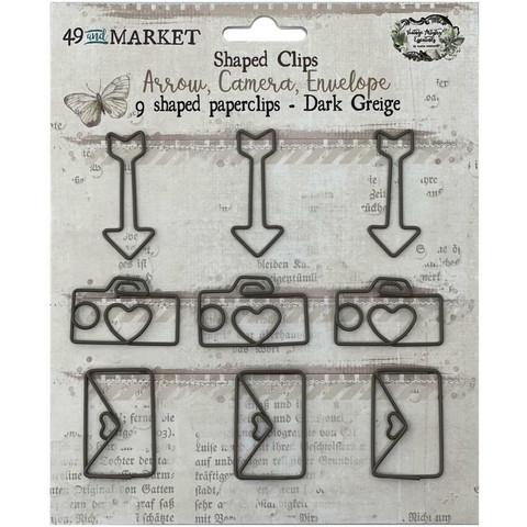 49 And Market Foundations Shaped Clips -klipsit, Dark Greige