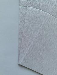 Helmiäiskorttipohja, Parizma, valkoinen, 13.5 x 27 cm, 10 kpl