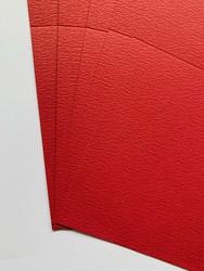 Korttipohja, Parizma, punainen, 13.5 x 27 cm, 10 kpl