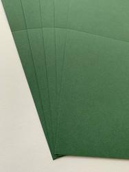 Korttipohja, Satin Pollen, vihreä, 13.5 x 27 cm, 10 kpl