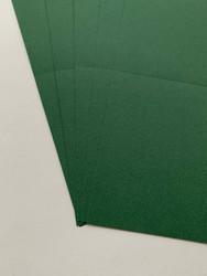 Korttipohja, Satin Fiber, vihreä, 13.5 x 27 cm, 10 kpl